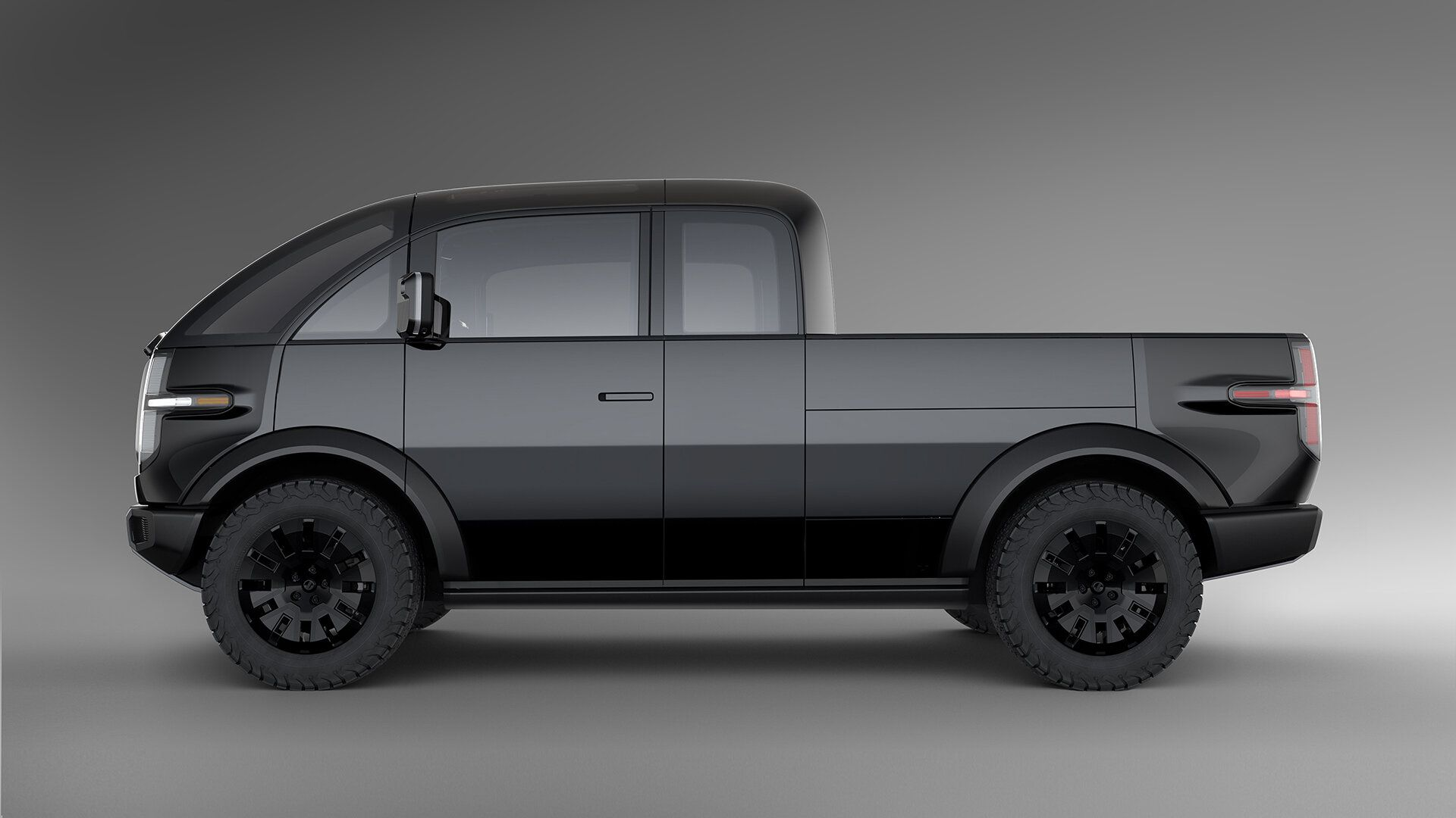 Canoo Pickup Truck Side View