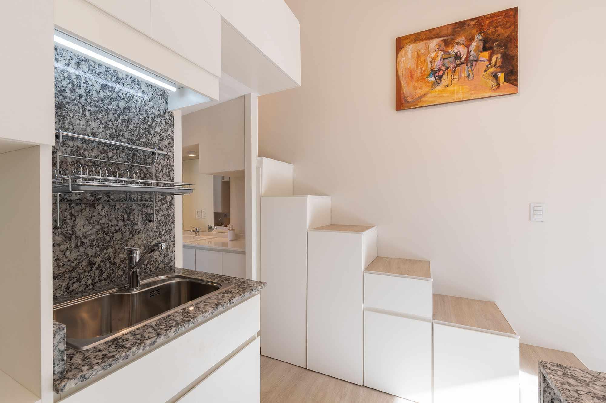 Hüga prefabricated house by Grandio kitchen