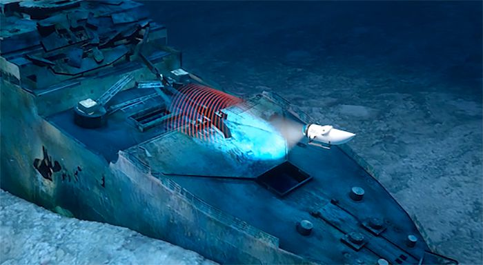 OceanGate plans on using an advanced new submersible called the 'Cyclops 2' to 3D scan the wreck of the Titanic in unprecedented detail.