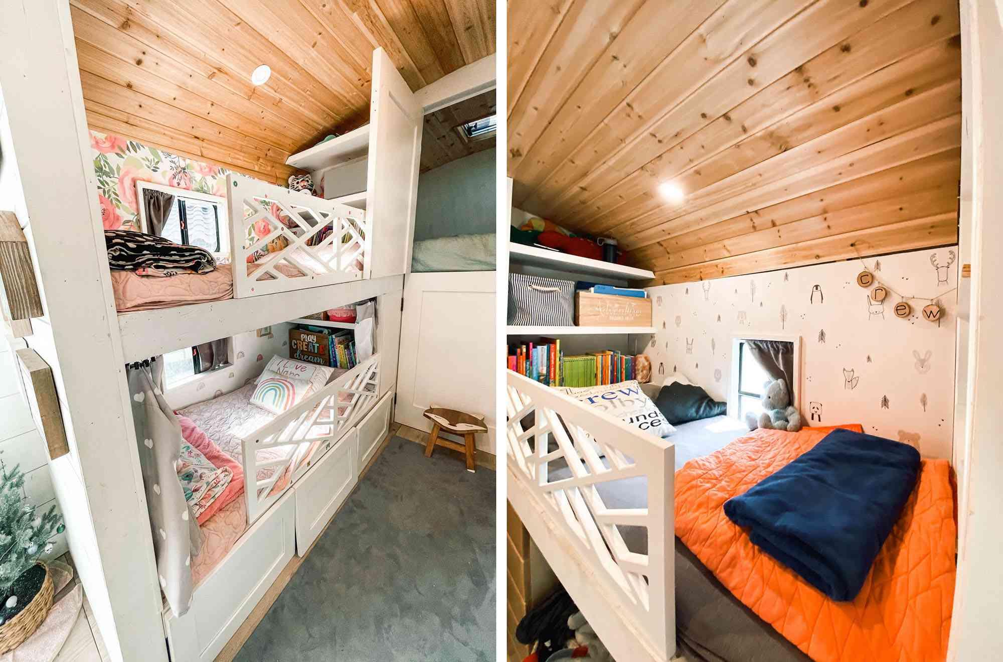 bus conversion kids bedroom The Lost Bells