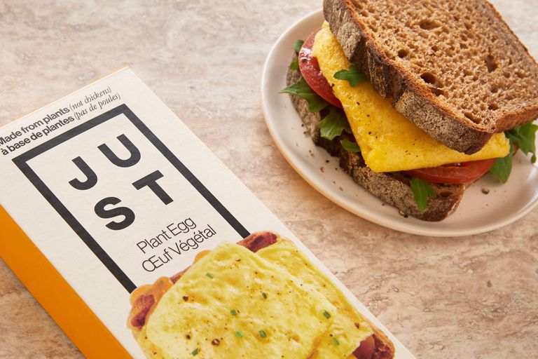 JUST Egg plant-egg sandwich