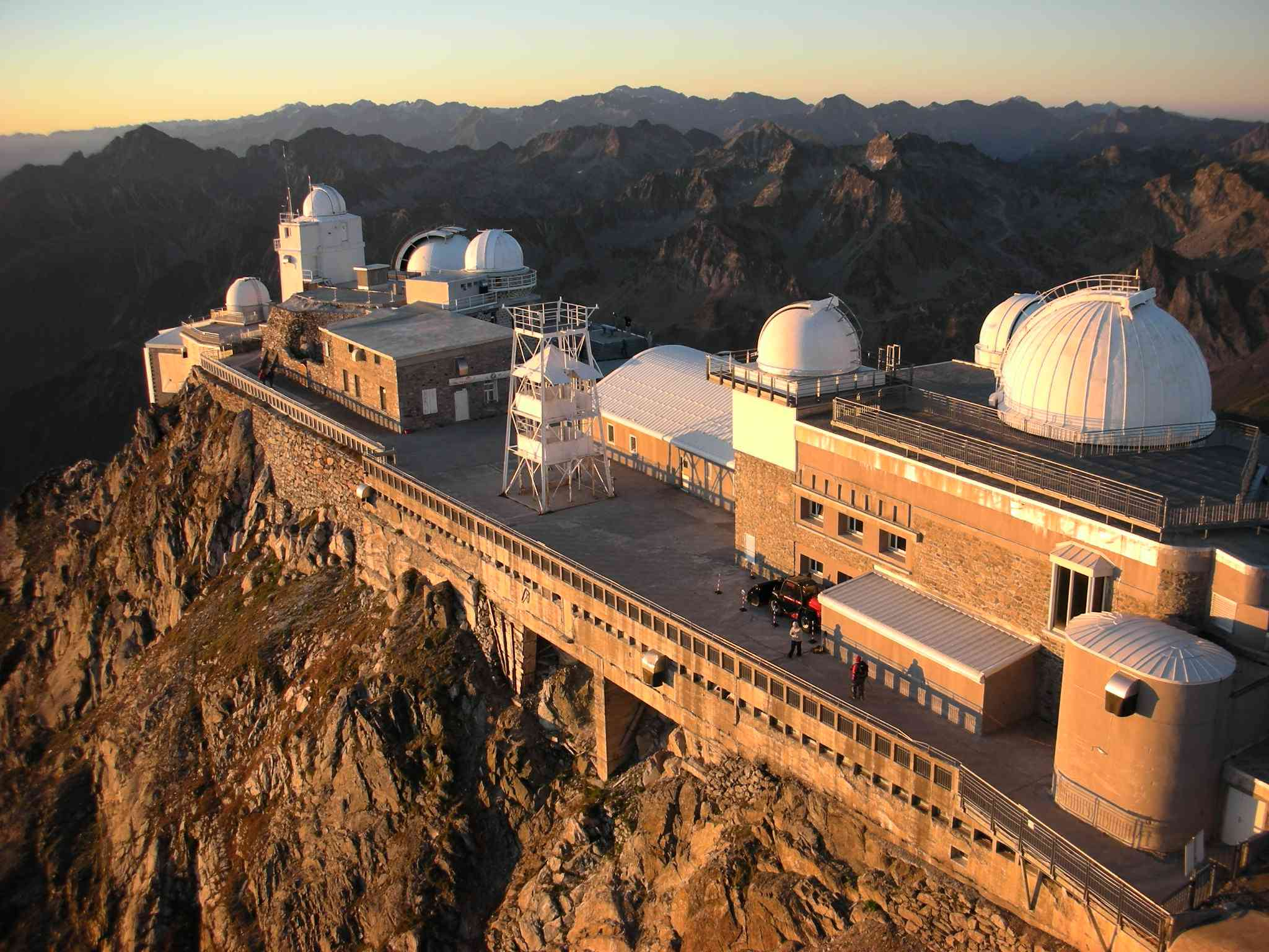 Pic du Midi Observatory on the French Pyrenees mountians