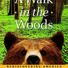 The cover for 'A Walk in the Woods: Rediscovering America on the Appalachian Trail' by Bill Bryson
