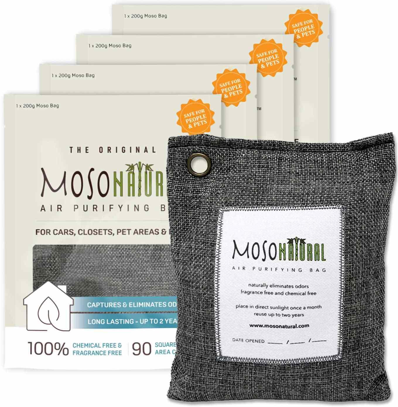 MOSO NATURAL: The Original Air Purifying Bag