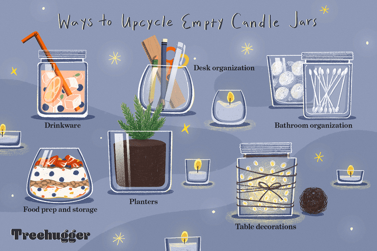 ways to upcycle candle jars edit illo