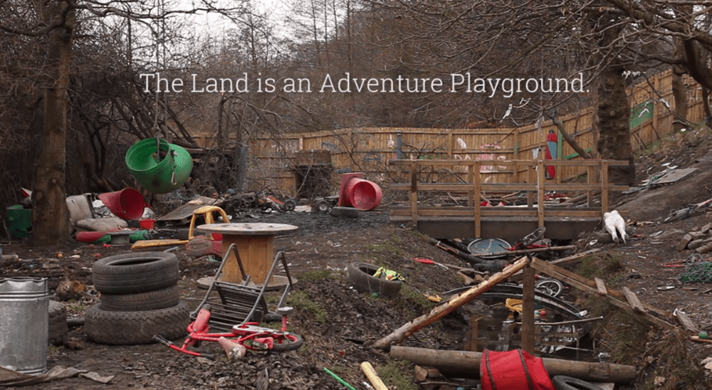 A junk discovery adventure playground