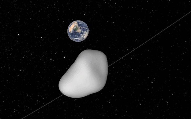 El asteroide entrante pondrá a prueba la red de defensa planetaria de la NASA
