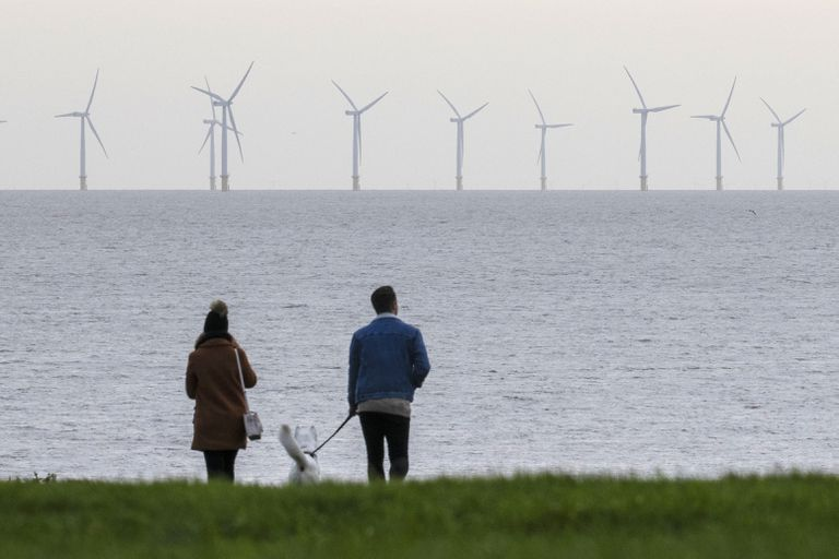 UK Pushes Wind Energy In Pursuit Of 'Net Zero' Emissions