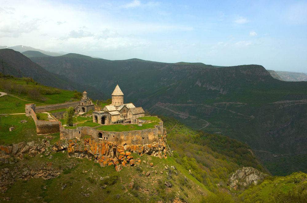 Tatev Monastery in the Syunik Province of Armenia