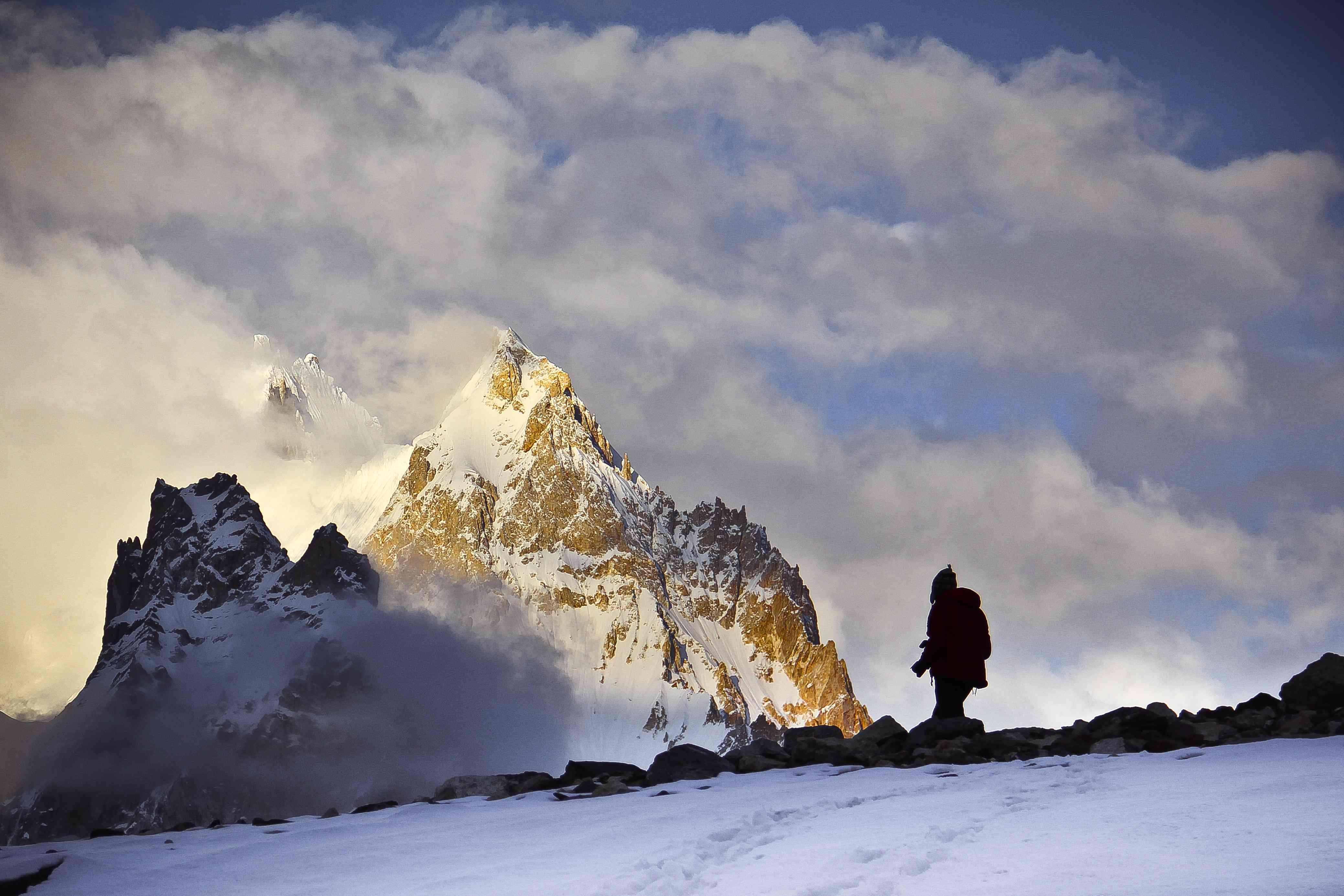 Gasherbrum peaks in Pakistan