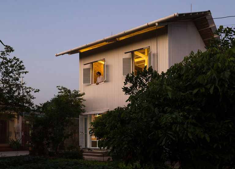 HOUSE (Human's Optional USE) by H&P Architects exterior