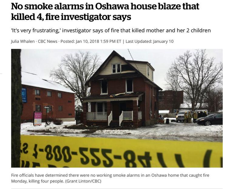 Es hora de desechar su detector de humo y conseguir uno nuevo