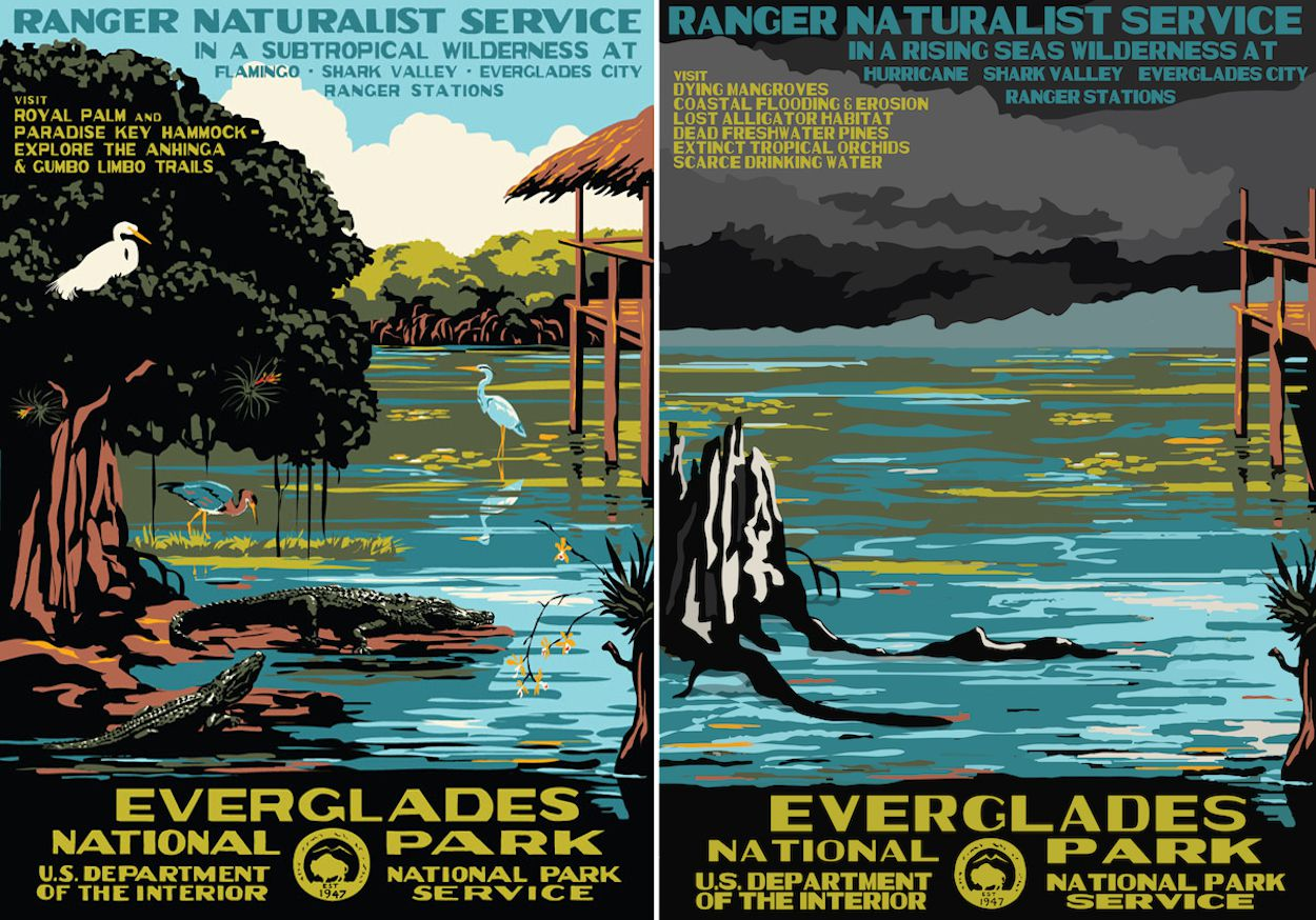 Artist's Brilliant National Park Posters Advertise a Grim Future