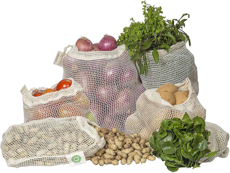 Organic Cotton Mart Mesh Produce Bags