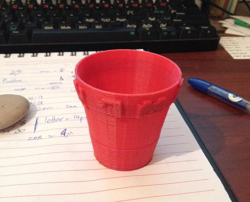 3D Printable Pot