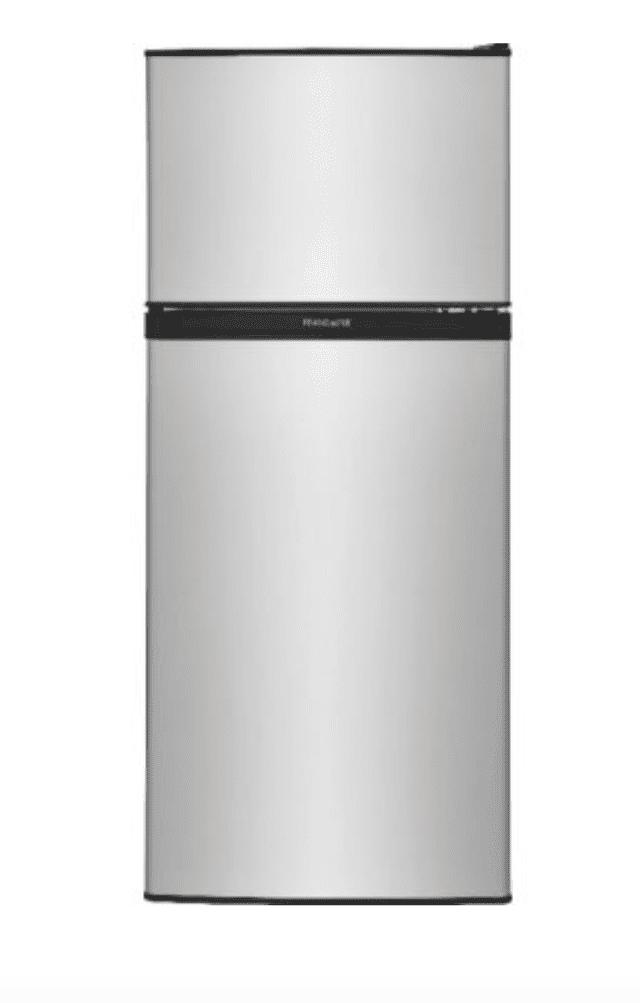 Frigidaire FFPS4533UM 4.5-cu ft Freestanding Mini Fridge Freezer Compartment