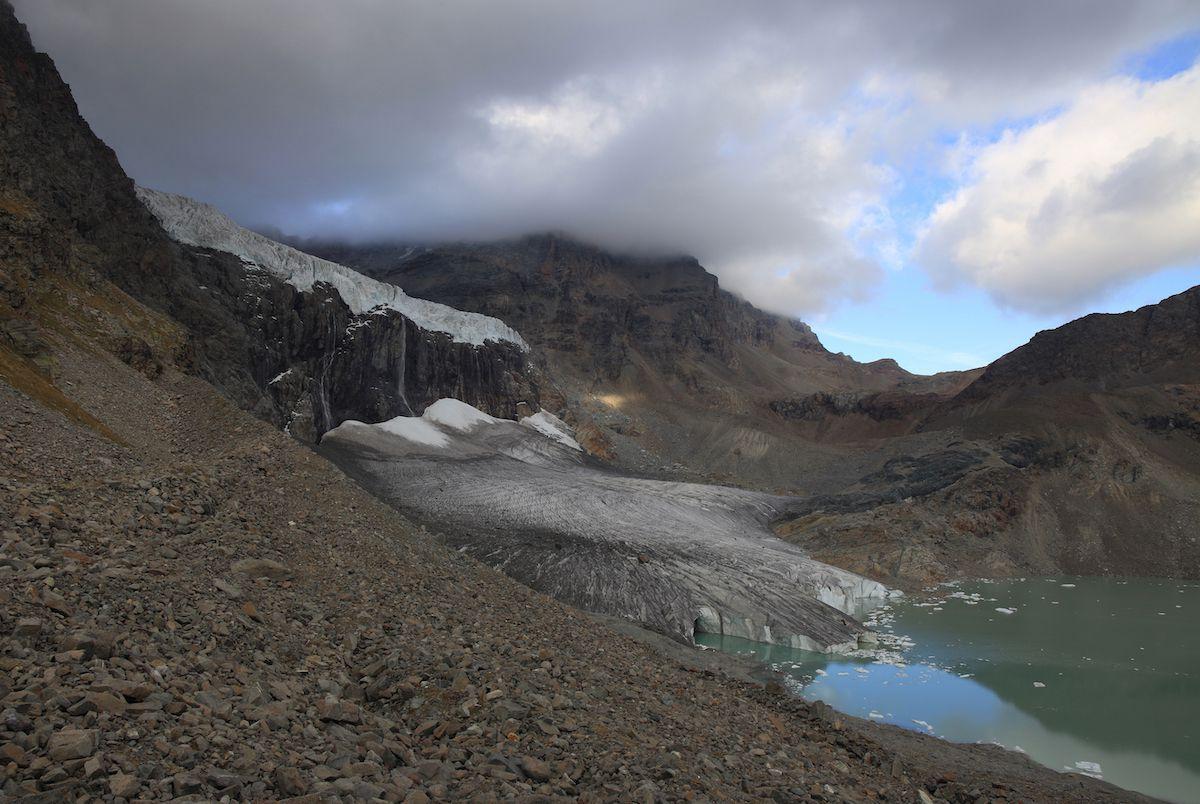 The eastern Fellaria glacier.