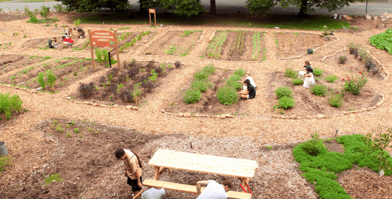umass permaculture garden conference photo
