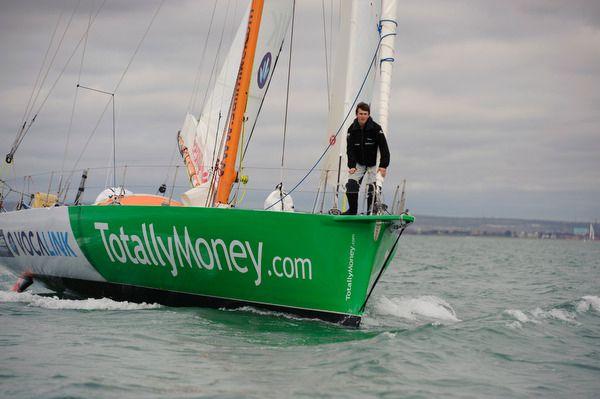 Michael Perham on the ship TotallyMoney.com