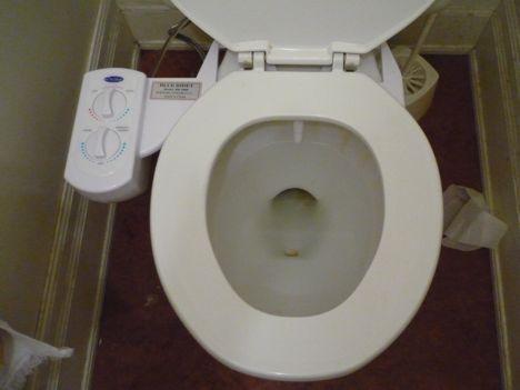 blue bidet toilet install bidet photo