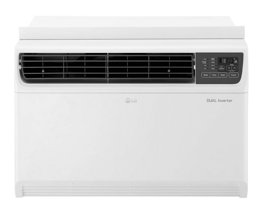 LG Electronics 14000 BTU Dual Inverter Window Air Conditioner with Wi-Fi Control