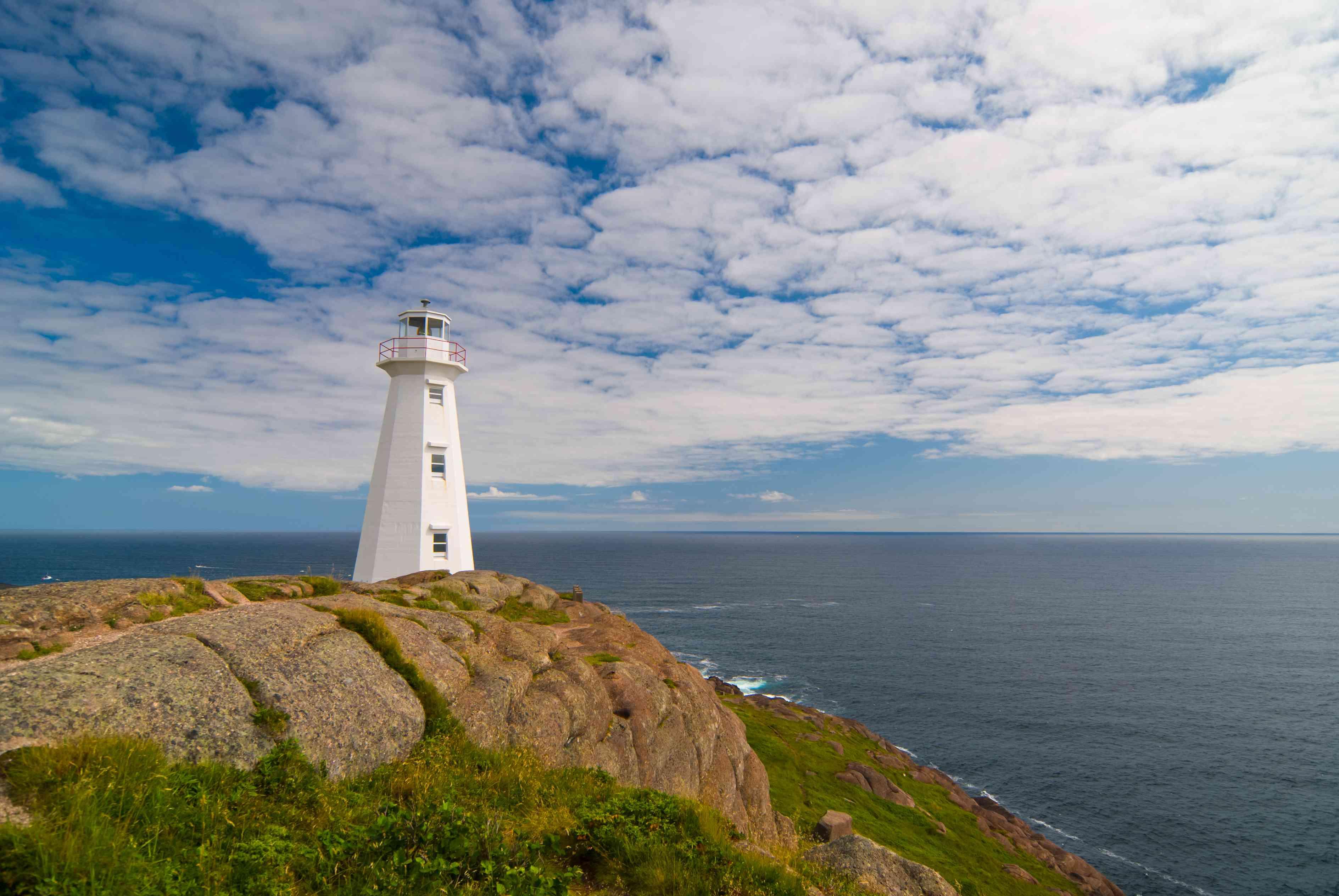 Cape Spear Lighthouse in Saint John's