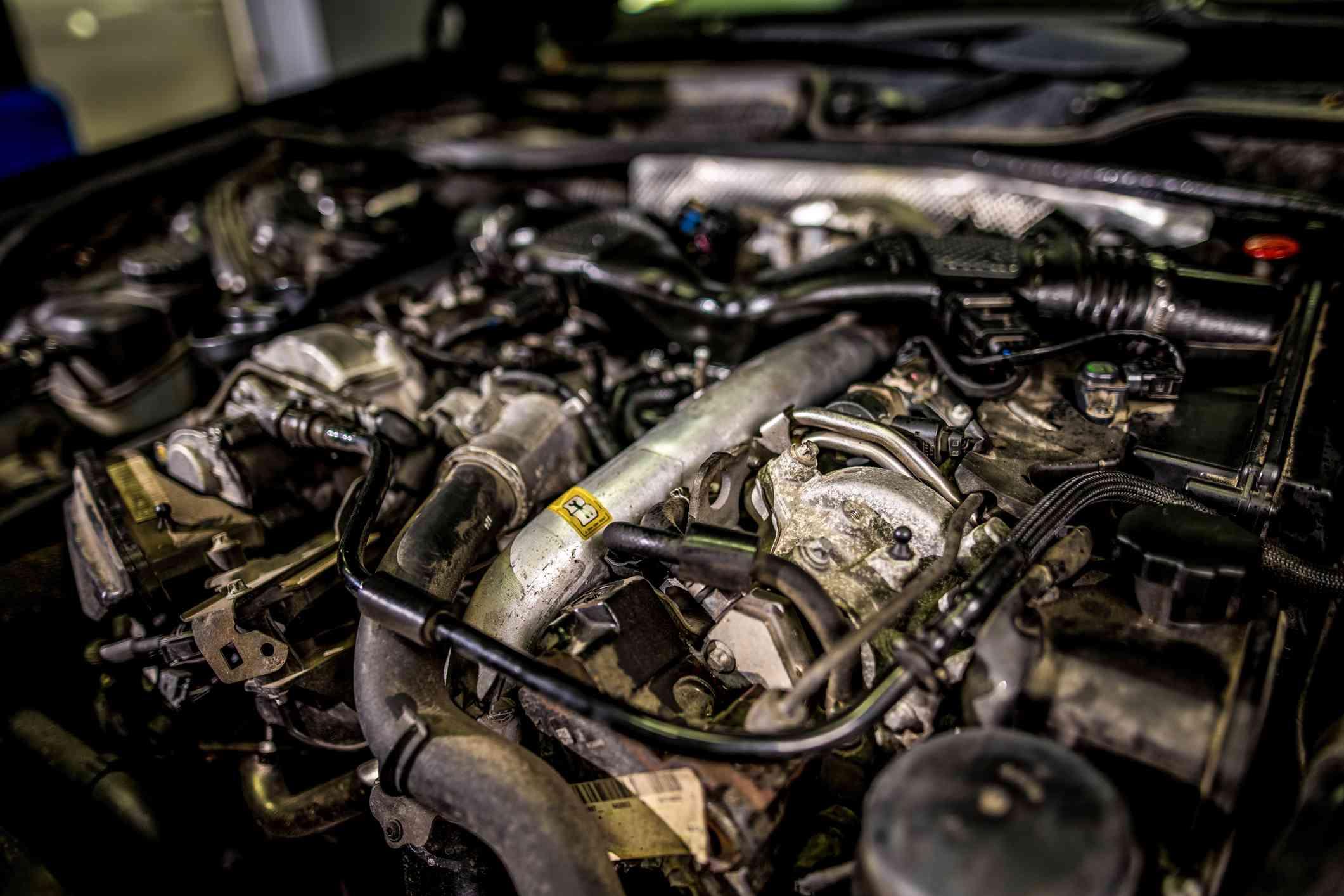 A diesel engine
