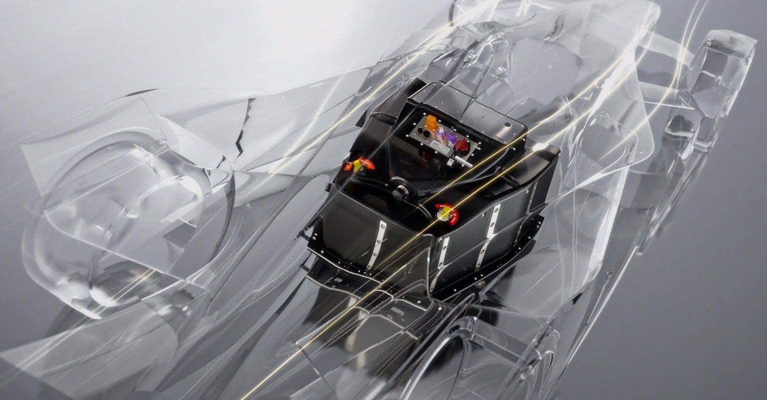 Atieva Formula E battery pack