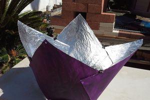 Purple Fig Solar Cooker