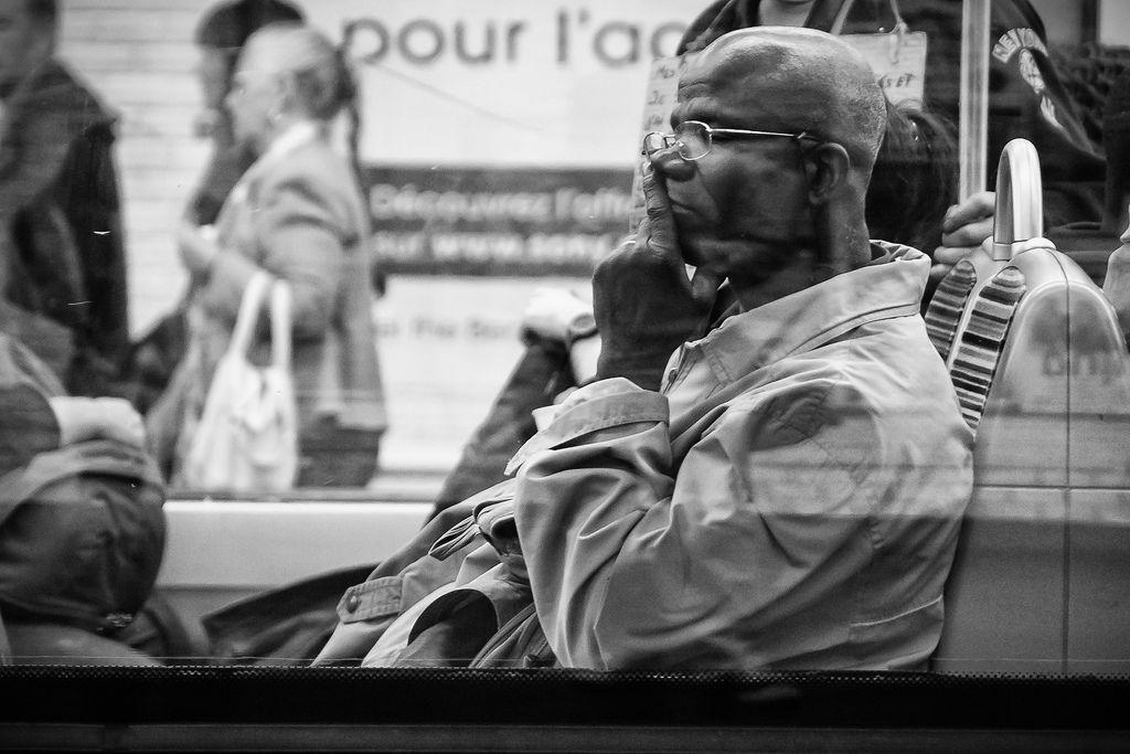 Paris metro public transit