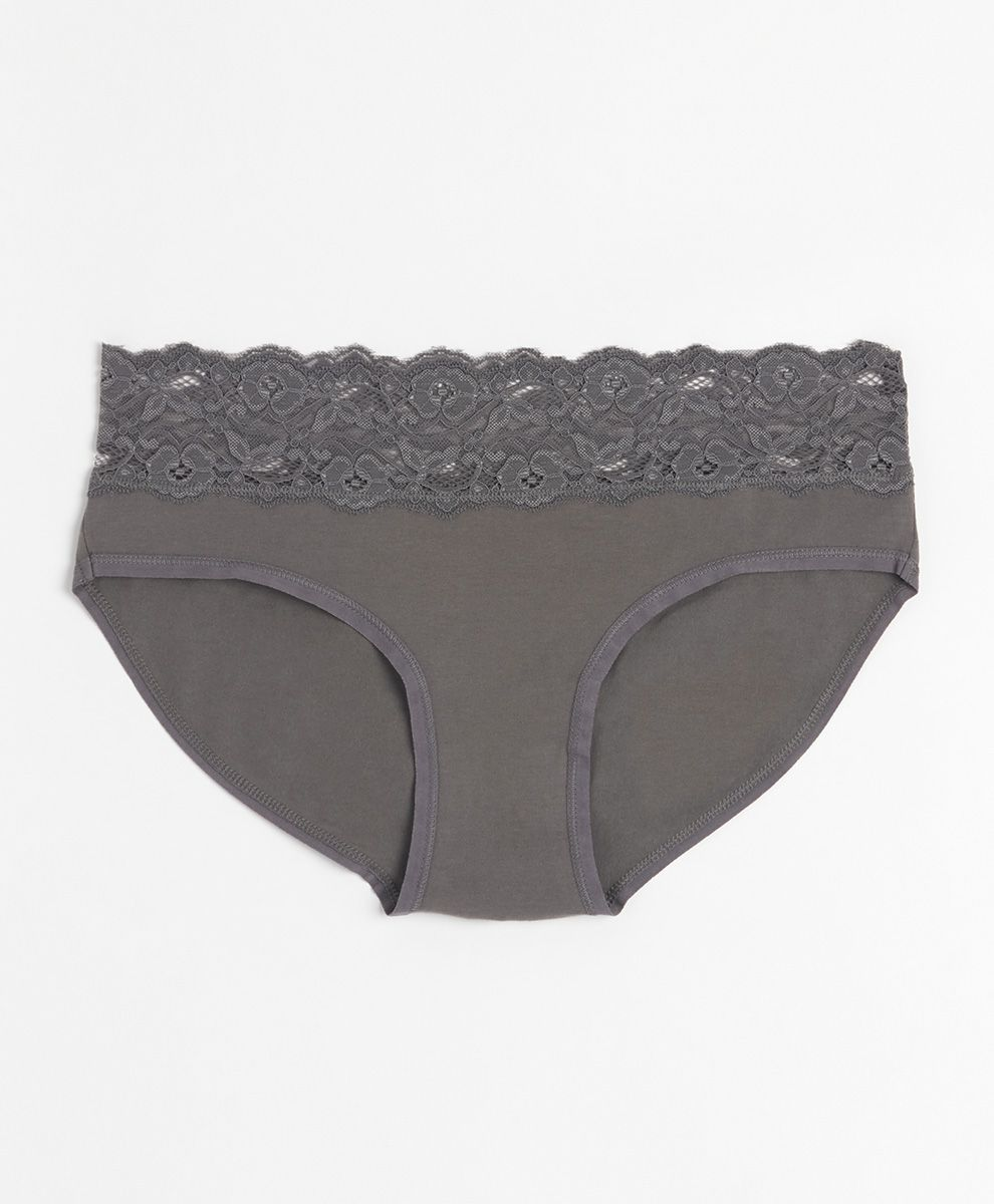 Pact Lace-Waist Brief