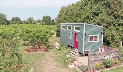 tiny home big farm exterior
