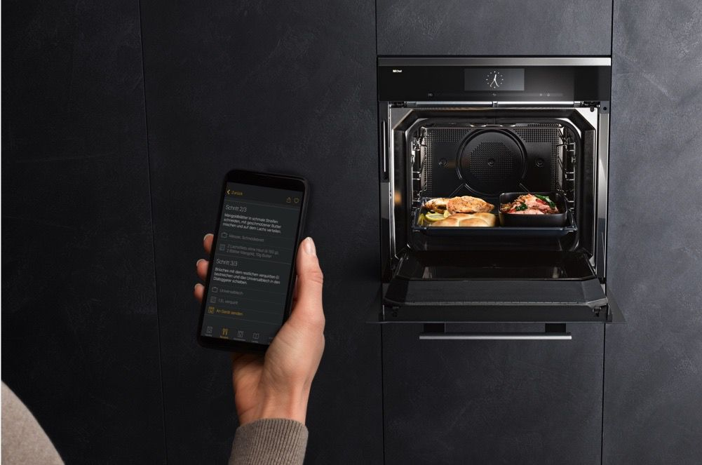 dialog oven controlled by app