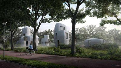 Project Milestone rendering, Eindhoven, Netherlands