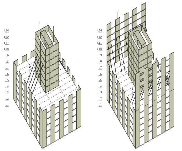 FFTT tower detail