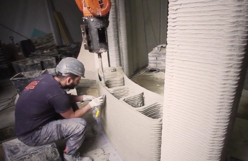 Printing the wall