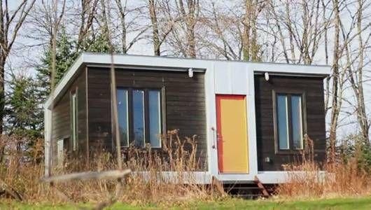 Una pequeña casa construida por estudiantes cuenta con un sistema de calefacción a base de estiércol [Video]