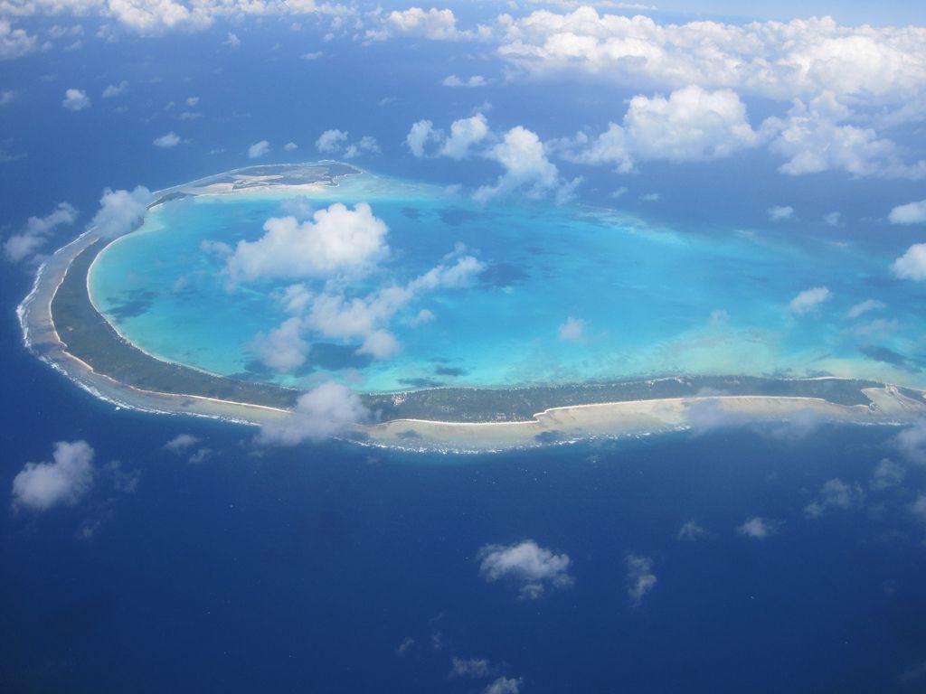 Republic of Kiribati in the Pacific Ocean