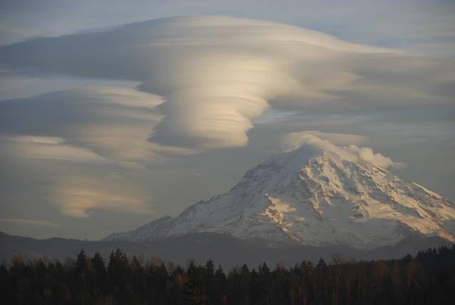 Cómo se forman las nubes lenticulares