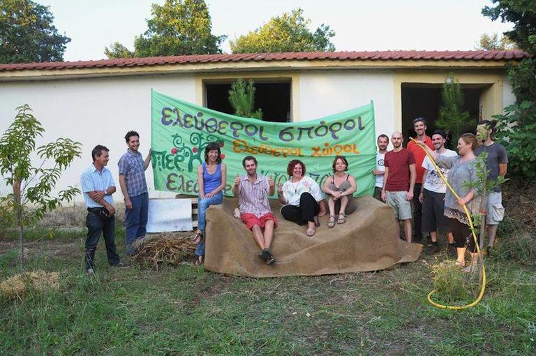Agroecopolis lucha por la seguridad alimentaria en Grecia