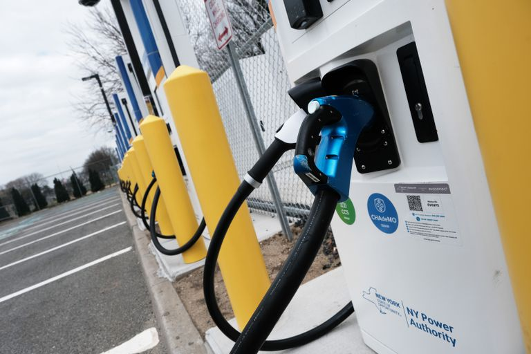 Northeast's Largest Public Electric Vehicle Fast-Charging Station Opens At JFK Airport