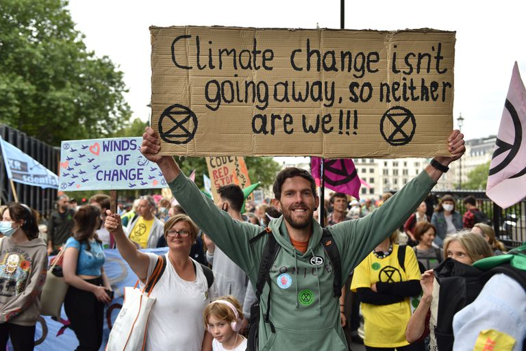 XR Hold The Impossible Rebellion 2021 Climate Action