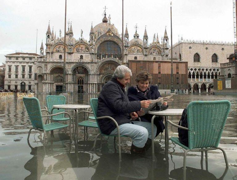 El 75 por ciento de Venecia acaba de sumergirse