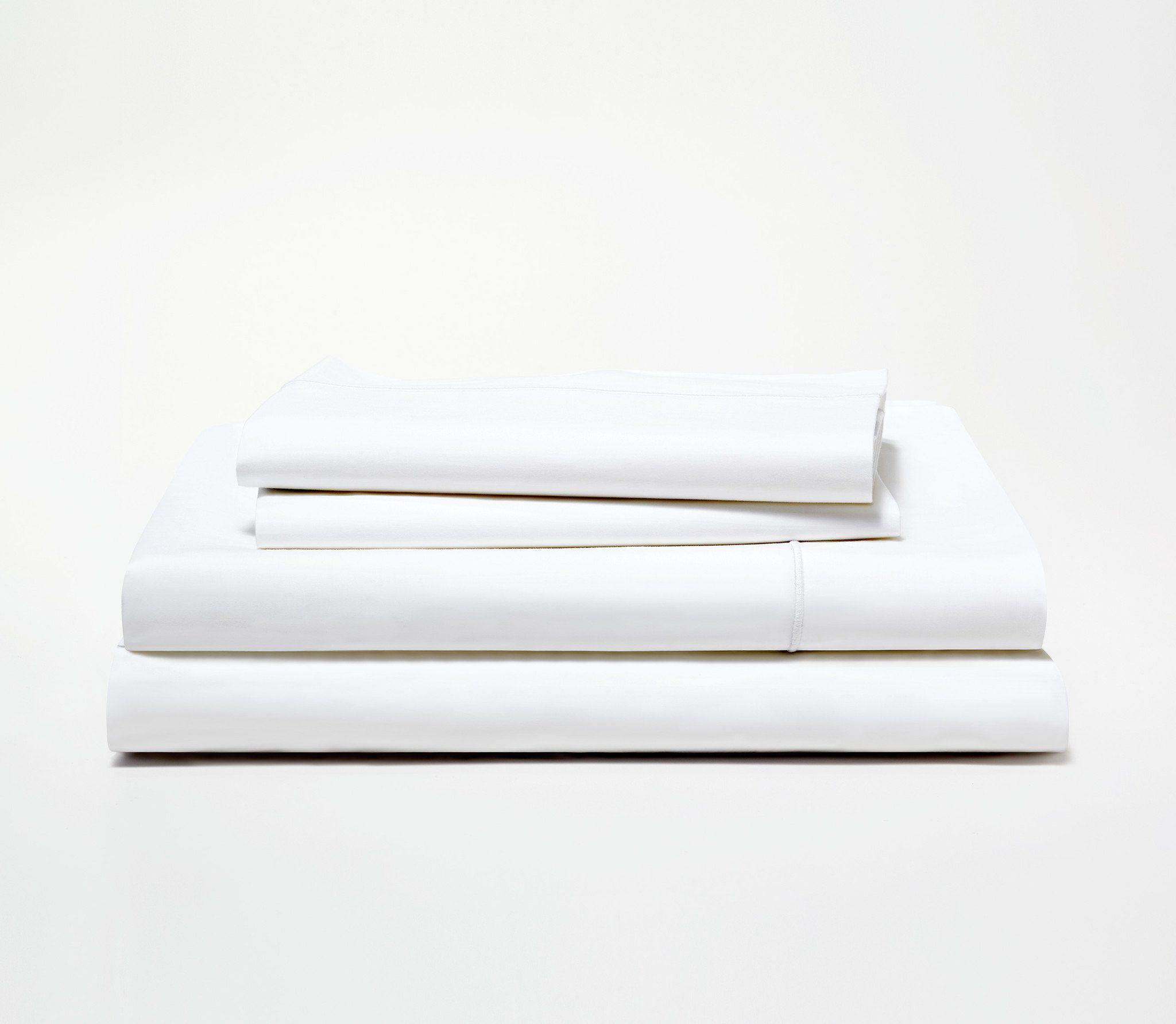 Snowe Percale Sheet Set