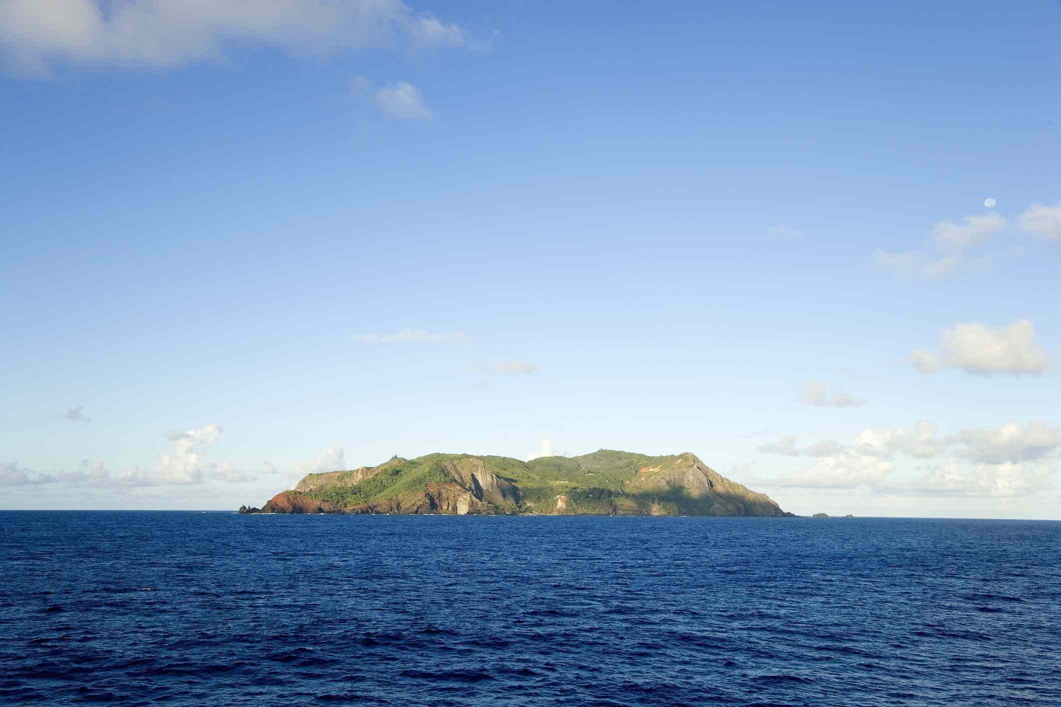 Henderson Island in the South Pacific