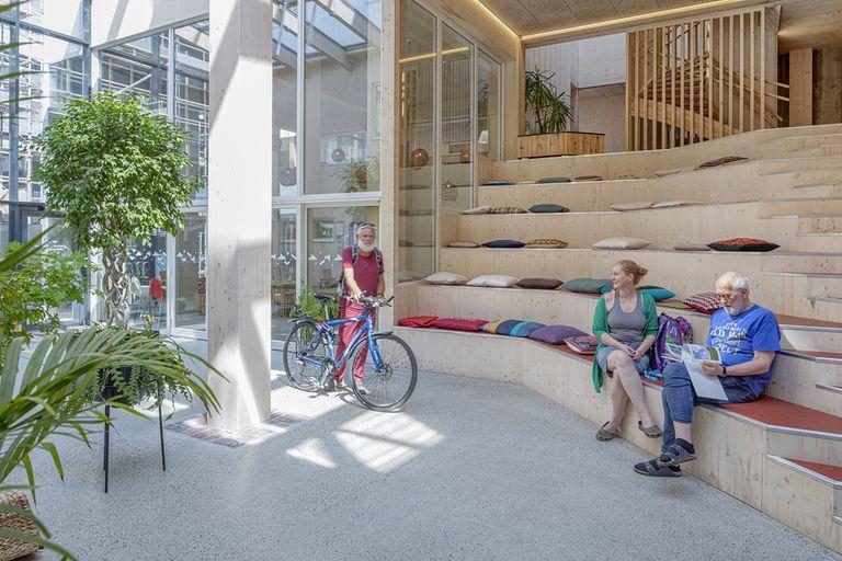 Vindmøllebakken Cohousing Project by Helen & Hard Architects entry intrerior