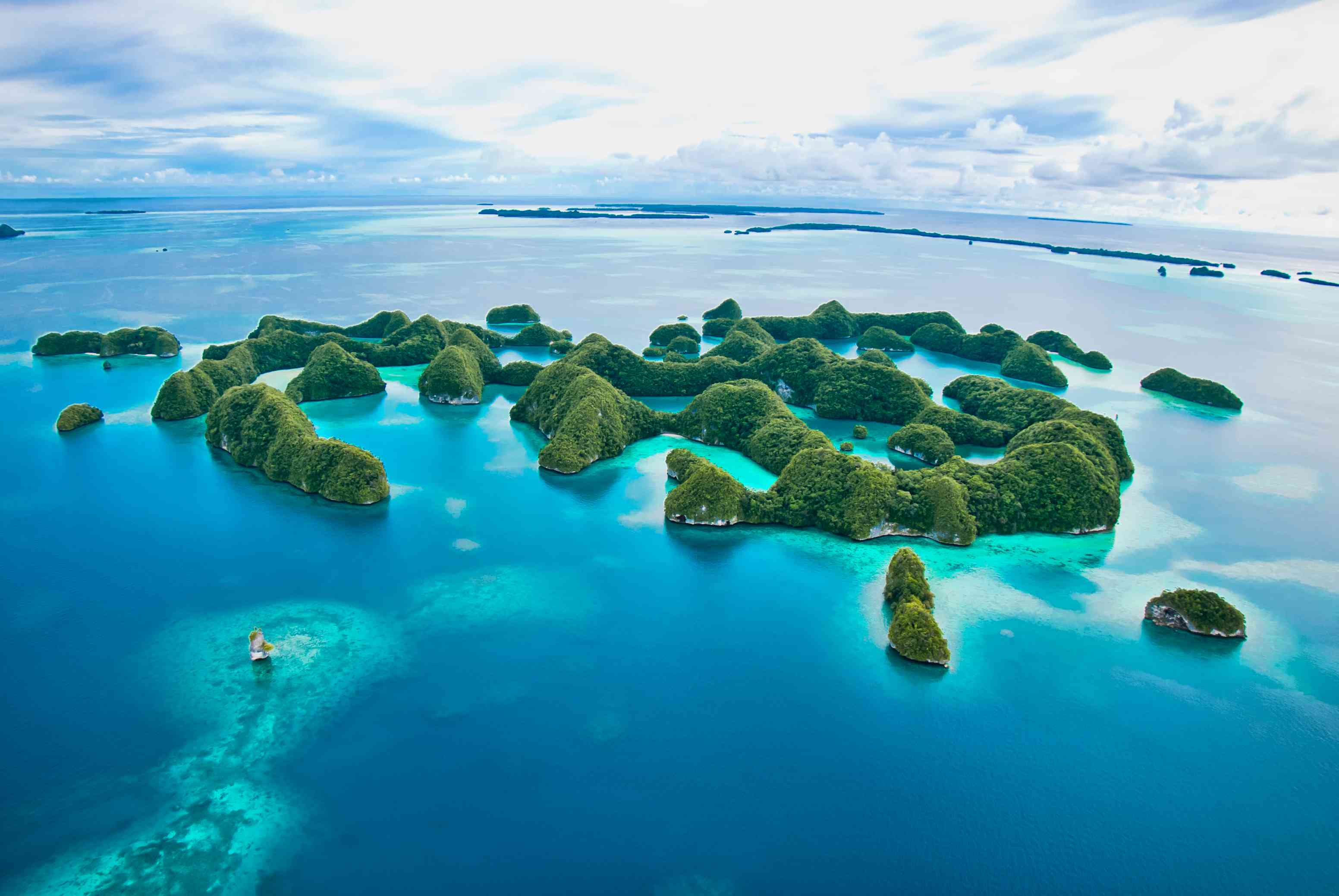 Island is Palau, where visitors must sign an eco pledge before entering the country