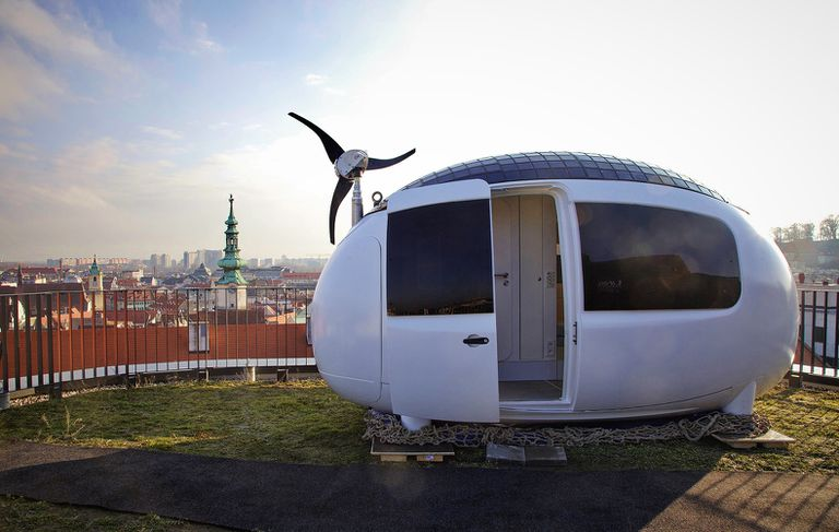 city view of ecocapsule