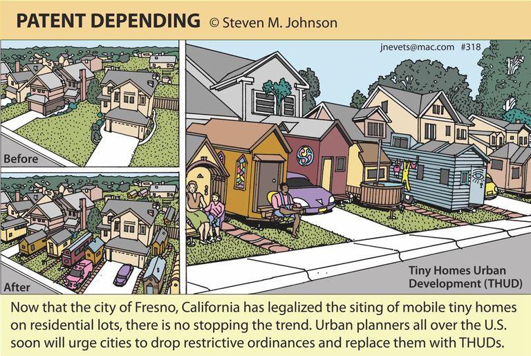 La ciudad de Fresno legaliza las casas pequeñas, y Steven M. Johnson está en ella