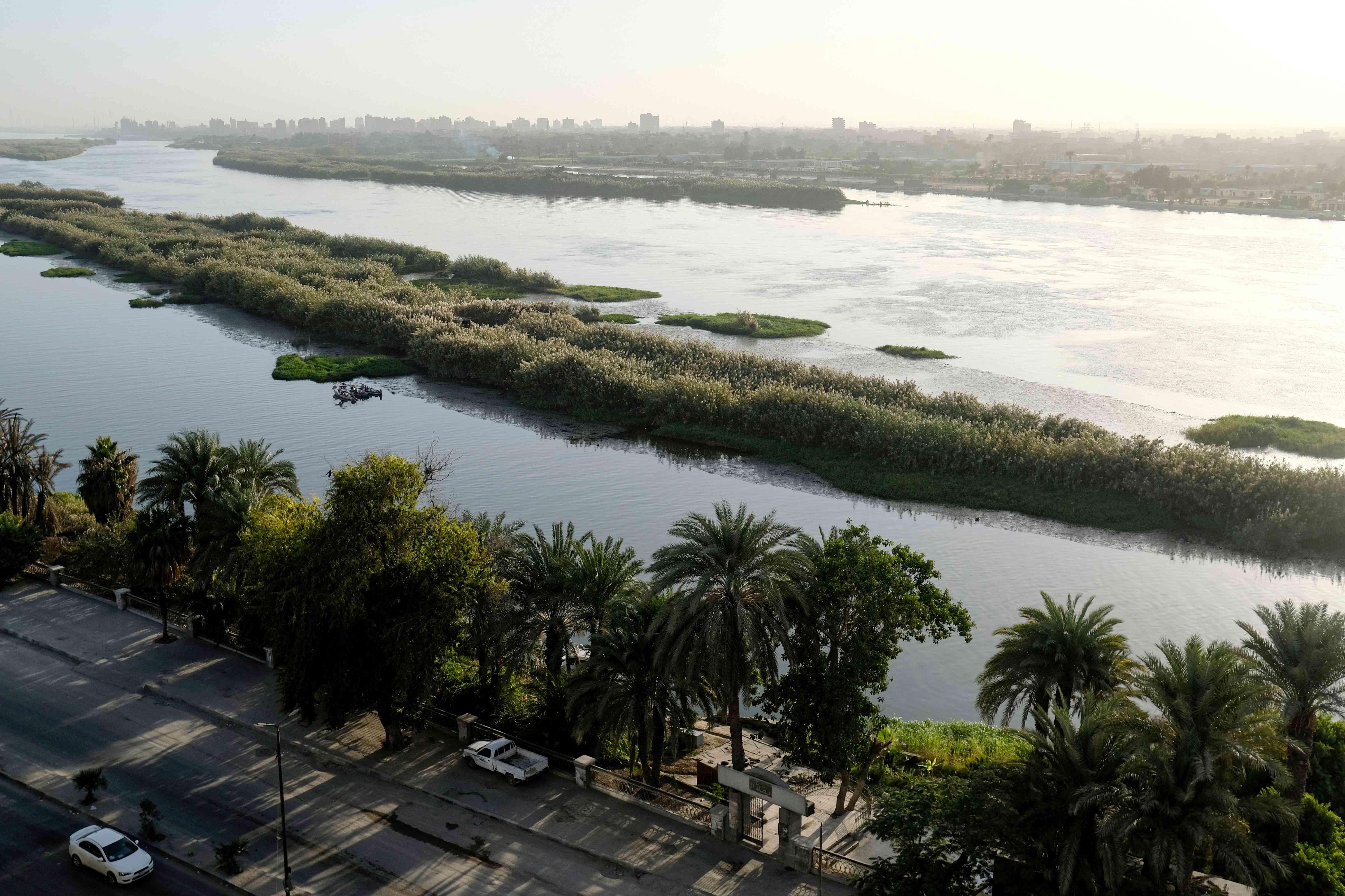 Nile River in Cairo, Egypt